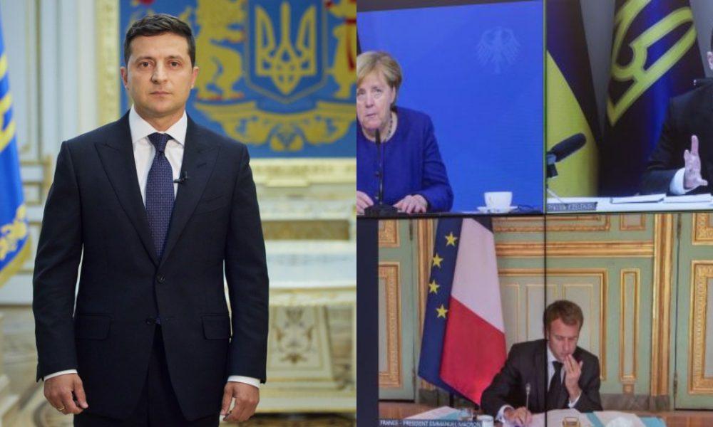 Лід зрушився! Доленосний ранок – Зеленський пішов ва-банк, поки Меркель ще на посаді – переговори. Це сталося